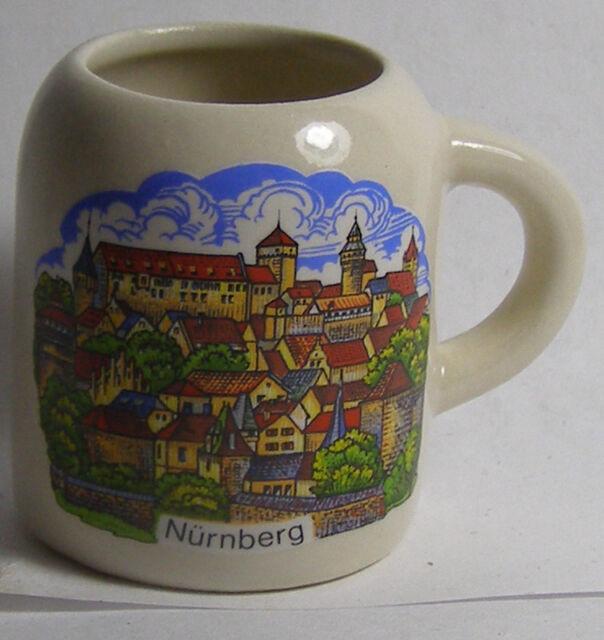 Nurnburg Countryside 1 OZ Mini Mug Shot Glass #2757