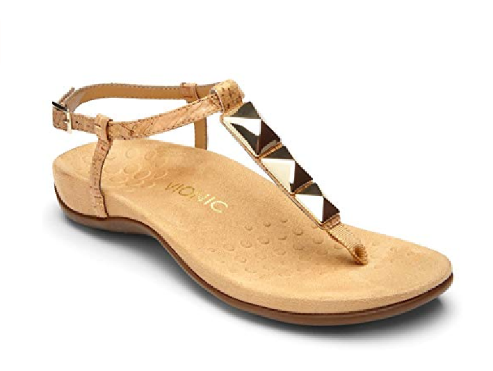 Vionic Women's Women's Women's 340NALA  Sandals gold CORK Choose Size Free Shipping NIB 47e2ca