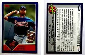 Andy-Marte-Signed-2003-Topps-300-Card-Atlanta-Braves-Auto-Autograph