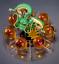 miniature 3 - Anime-Dragon-Avec-7-Boules-Dragon-Stereo-Ball-Z-Stand-etoiles-cristal-vert