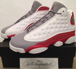 Sz One 5y Air Jordan Kids 5y 126 2014 5 414574 Grigio Toe 6y Gs 4 Red Nike 5y 13 eW9YDIEH2