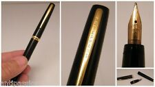Stylo plume Watermans 2 -18 Cts-made in France,corps noir,non testé,n°435.