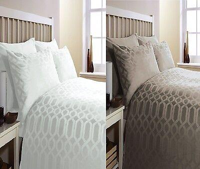 geo gyptische baumwolle 300 faden bettw sche set ebay. Black Bedroom Furniture Sets. Home Design Ideas