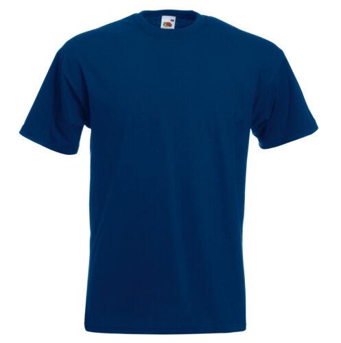 Fruit of the Loom SUPER PREMIUM T Shirt 15 COLOURS TRADE PRICES BULK BUYER