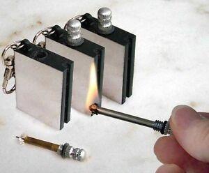 MATCH-BOX-LIGHTER-NOVELTY-GADGET-BOYS-MEN-TOY-STICK-STRIKE-FLINT-METAL-PETROL