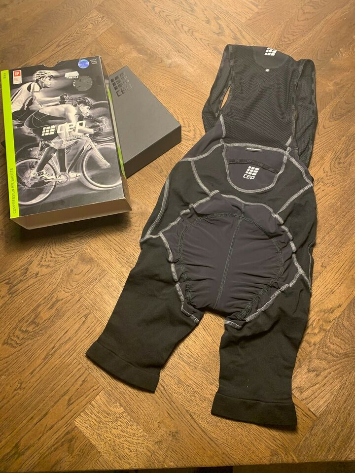 Cykeltøj, Bib shorts fra cep