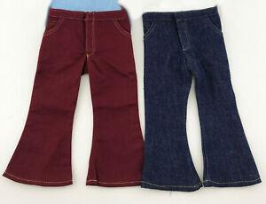 Just-Pretend-Doll-Clothes-18-034-Slim-Mix-amp-Match-Lot-C-1-Pants-Flared-Magic-Attic