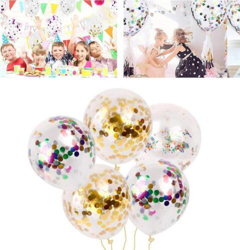 DIY 36Inch Confetti Latex Balloons Helium Wedding Decoration  Party Supplies