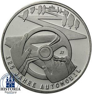 Deutschland-10-Euro-2011-Muenze-125-Jahre-Automobil-bankfrisch-in-Muenzkapsel