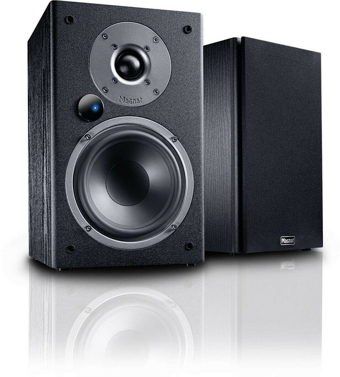 Magnat monitor Active 9 Pair Speakers Active Black New Italian Warranty
