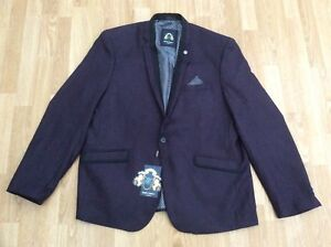 Mulberry Wool Eur Uk Mens Marc Blazer 48 58 Size Look Carter Darcy Yw6EFq7
