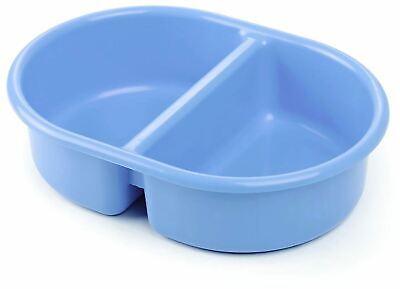 Neat Nursery Company Oval Top 'n' Schwanz Bowl - Blau Baby Bathtime Zubehör Neu Ein Unbestimmt Neues Erscheinungsbild GewäHrleisten