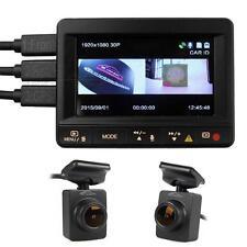 New Ambarella A7LA70 K1S Dash Cam Camera Car Video DVR Dual HD 1080p Lesns w/GPS