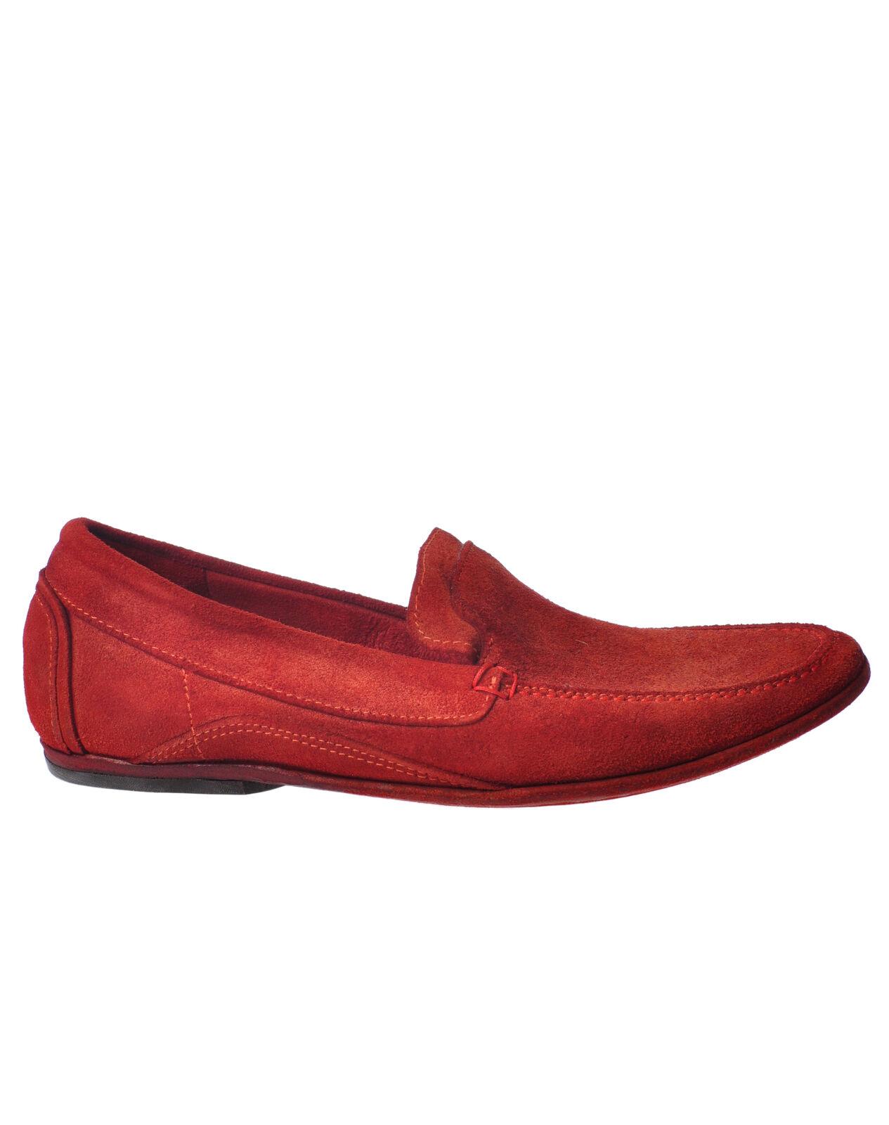 Bruno Bordese-Mocassini-Male-Rosso - 3454421A182044 Scarpe classiche da uomo