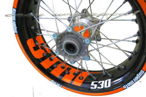 KTM SMR 530 easy-wrapped Felgenaufkleber Supermoto wheel sticker decal