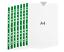 A4 Klar Kunststoff Poly Klarsichthüllen Starke Qualität Mappe Ärmel 55 Mikron