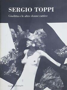 Arte-Sergio-Toppi-Giuditta-e-le-altre-donne-cattive-ed-2000