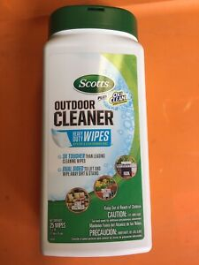 Scotts Plus Oxi Clean Outdoor Cleaner Wipes 2 Pack