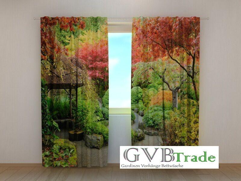 Window Treatments & Hardware Humorous Fotogardinen Wasserfall Fotovorhang Vorhang Gardinen 3d Qualität Fotodruck