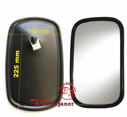 Rückspiegel Aussenspiegel 225x155 für Traktor Deutz TJU-109F// 1 St