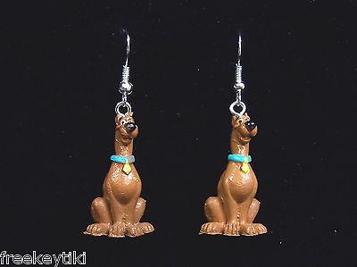 "Hanna-Barbera Scooby-Doo Show Cartoon 1/"" Mini Figures Figurines Dangle Earrings"
