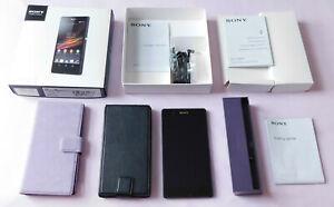 Sony Xperia Z C6603 Android 5.1.1 Téléphone Portable Débloqué/w case & Station D'accueil Cradle