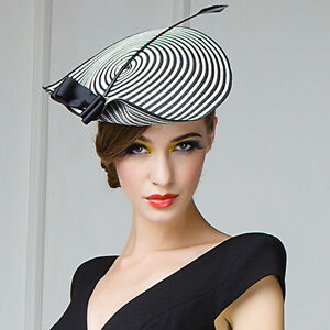 a2a2a7177bdae Image is loading Womens-Straw-Arrow-Fascinator-Cocktail-Saucer-Hats-Kentucky -