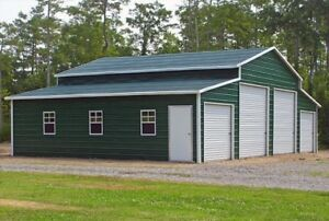 Awesome Image Is Loading Metal Barn 44x31 A Frame Steel Building 4  Nice Ideas