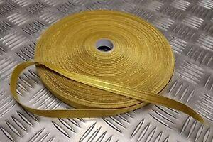 "Genuine British Royal Naval Pattern RN 1/2"" Gold Braided Ranks Lace Ribbon RC14"
