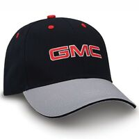 Gmc Black And Gray Sandwich Brim Hat