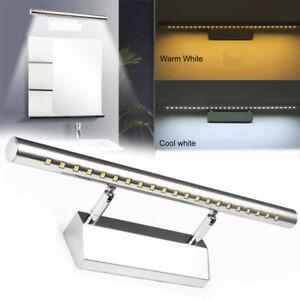 Luz-de-pared-LED-Lampara-de-espejo-de-bano-Luz-de-aluminio-y-acero-inoxidable