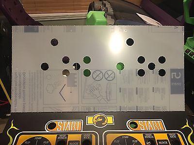Mortal Kombat 1 Arcade Control Panel Box Art Artwork Overlay MK1 CPO Midway