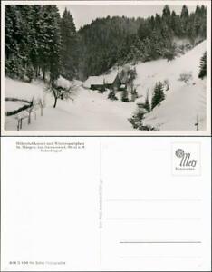 Ansichtskarte St. Märgen Panorama Ansicht Holzschlagtal Schwarzwald 1950