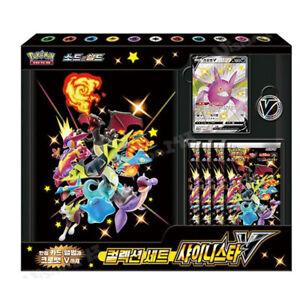 Pokemon Card Game Sword & Shield Collection Set Shiny Star V BOX Korean ver