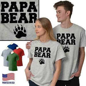 f42e7c3af51f Papa Bear Worlds Greatest Fathers Day Gift Mens T-Shirts T Shirts ...
