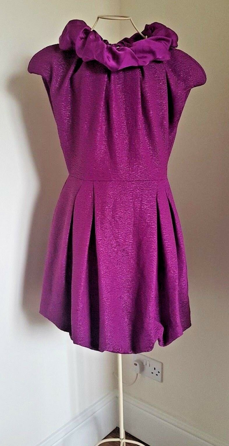 F&F Couture   Magneta Purple Dress  Size 14  New with Tags  Gorgeous
