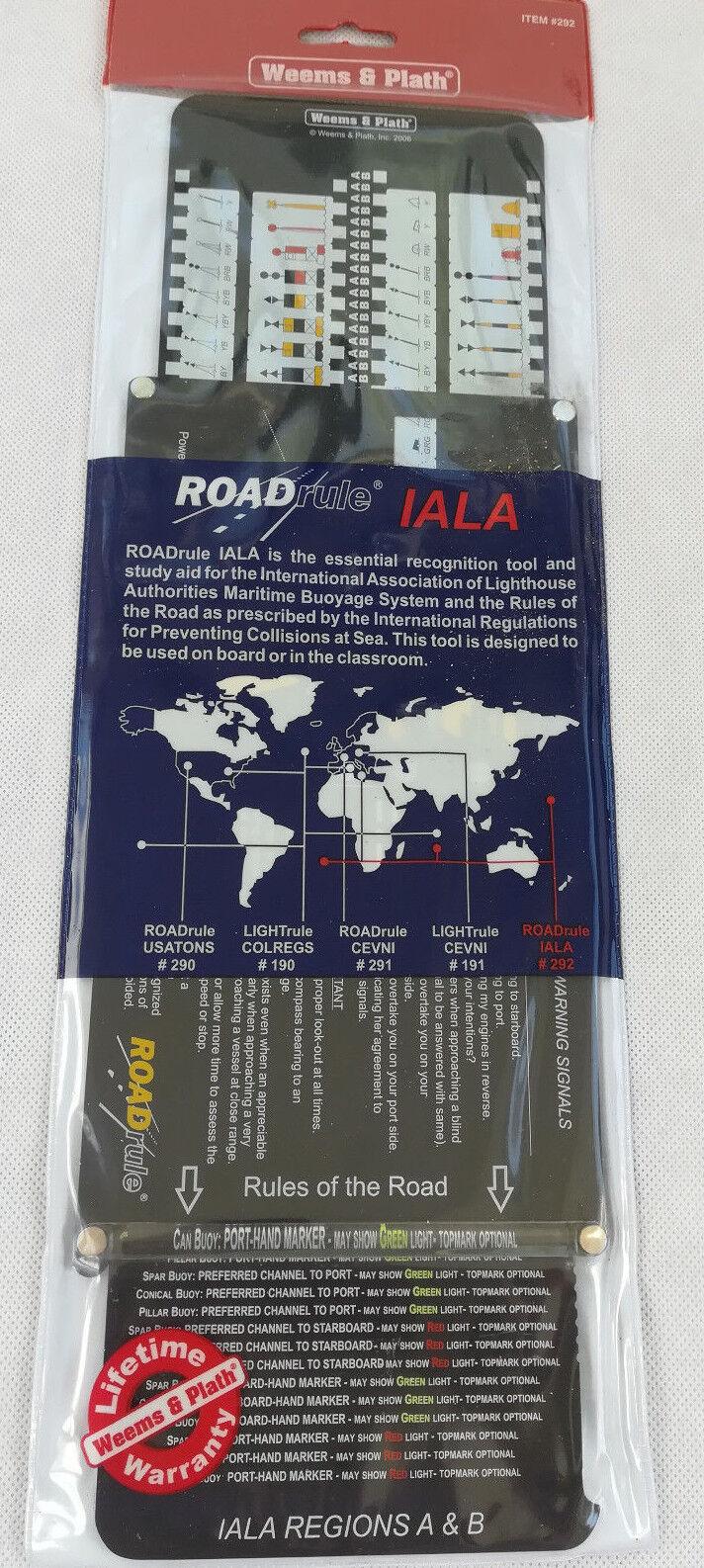 Weems & Plath Marine Navigation ROADrule Marine Navigation Aids, IALA