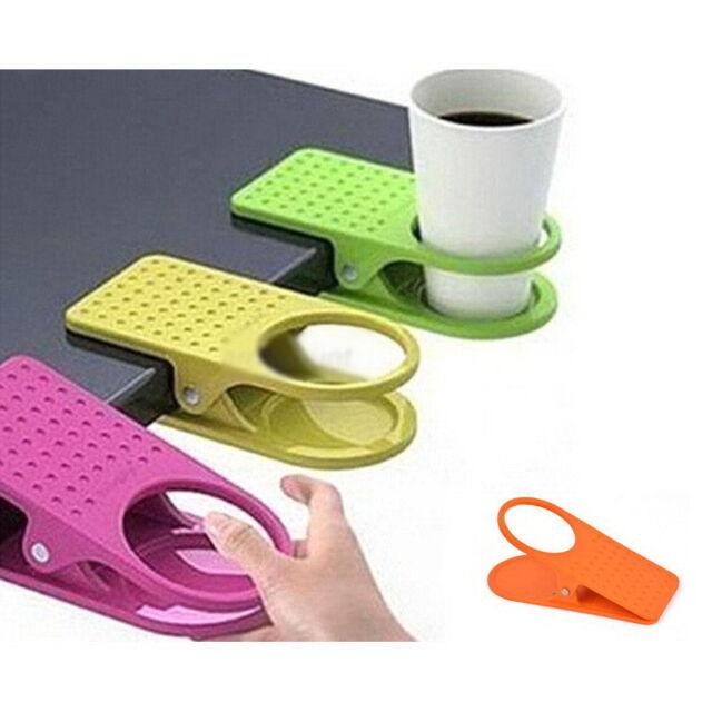 Chic Home Kitchen Drink Coffee Cup Holder Mug Rack Cradle Clip Desk Table