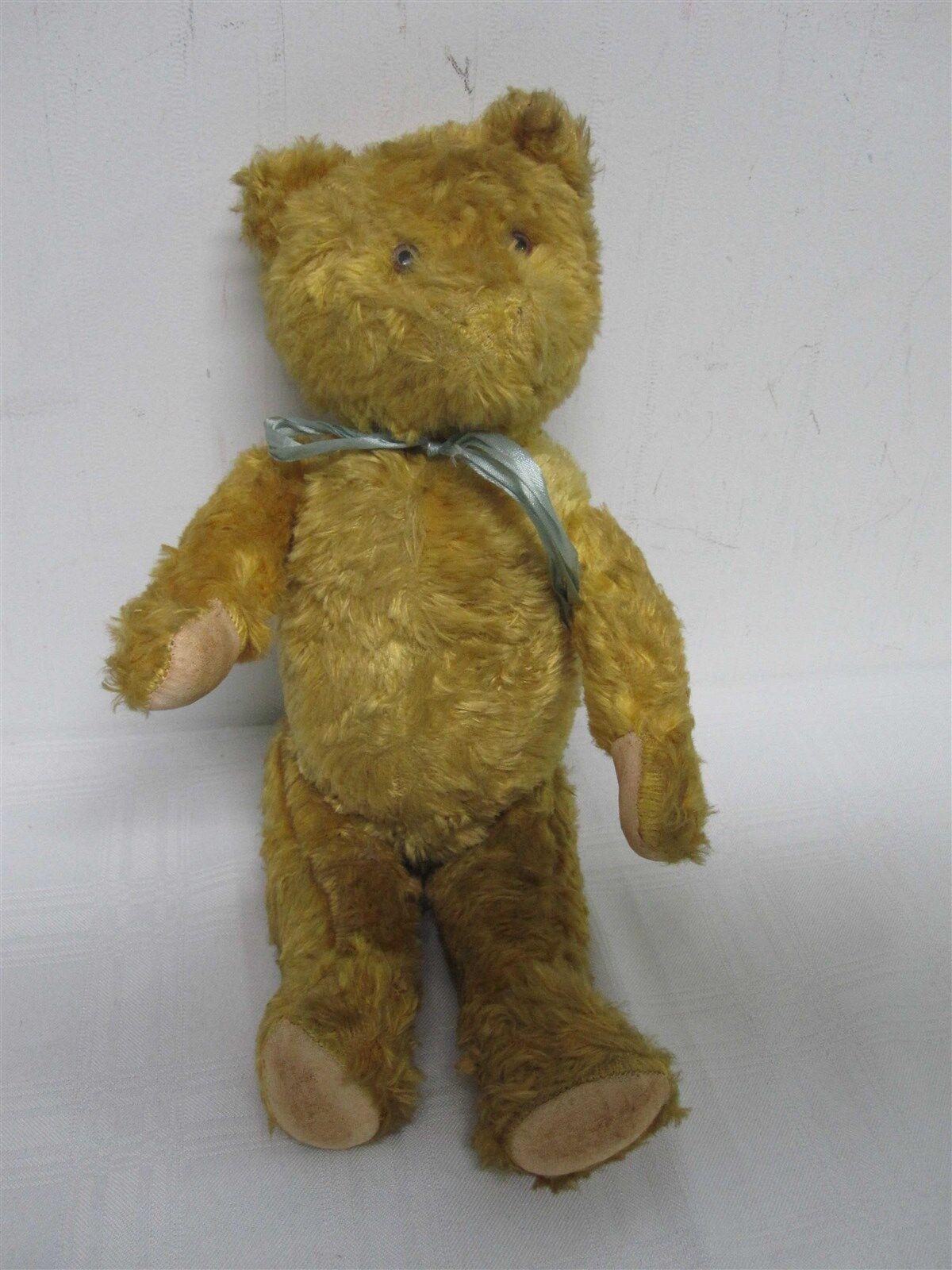 TIDIGARE ANTIQUE STEIFF guldEN JONTERAD TEDDY BEAR