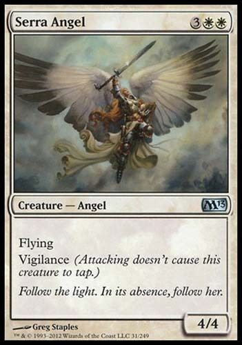 4x Serra Angel  UNCOMMON Dominaria MTG Magic The Gathering 4x
