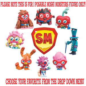 New-Moshi-Monsters-Poseable-Super-Figure-78324-Choose-your-favorite-BNIP