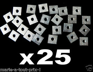 25-x-ecrous-carre-8-x-8mm-M3-3mm-zing