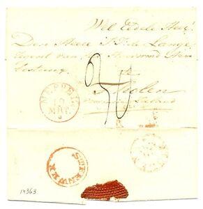 NEDERLAND-1830-ca-BRIEFOMSLAG-MEPPEL-STEENWIJK-THOLEN