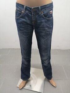 Jeans-ROY-ROGERS-donna-taglia-size-27-pants-woman-pantalone-donna-cotone-6213