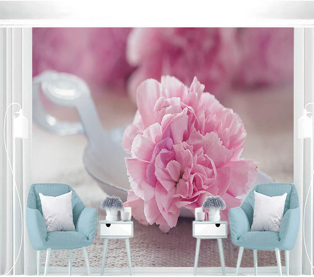 Pinellia Flowers 3D Full Wall Mural Photo Wallpaper Printing Home Kids Decor