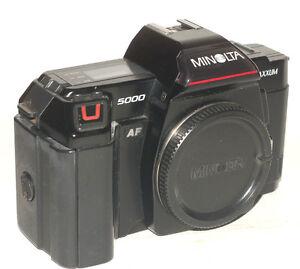 My Gear: Minolta Maxxum 5000