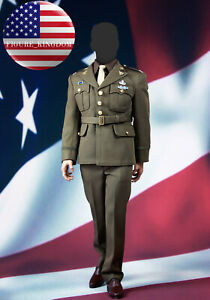 "POPTOYS 1//6 X19 Captain America Uniform WW II Golden Age for 12/"" Hot toys Figure"
