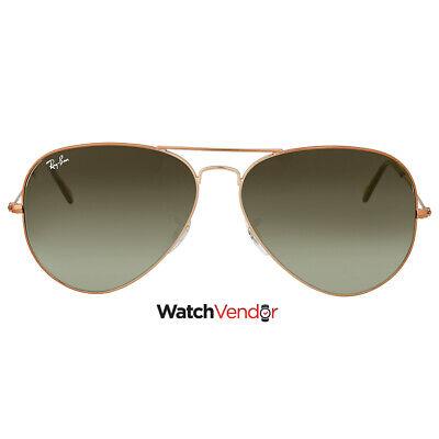 Ray Ban Green Gradient Aviator Sunglasses