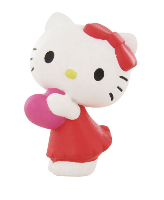 Bullyland Comansi Official Hello Kitty Toy Figure Cake Topper Toppers