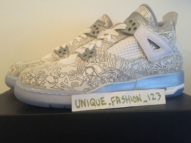 quality design 234df 06613 Nike Air Jordan Retro 4 IV GS BG-US 5.5y UK 5 38 Weiß
